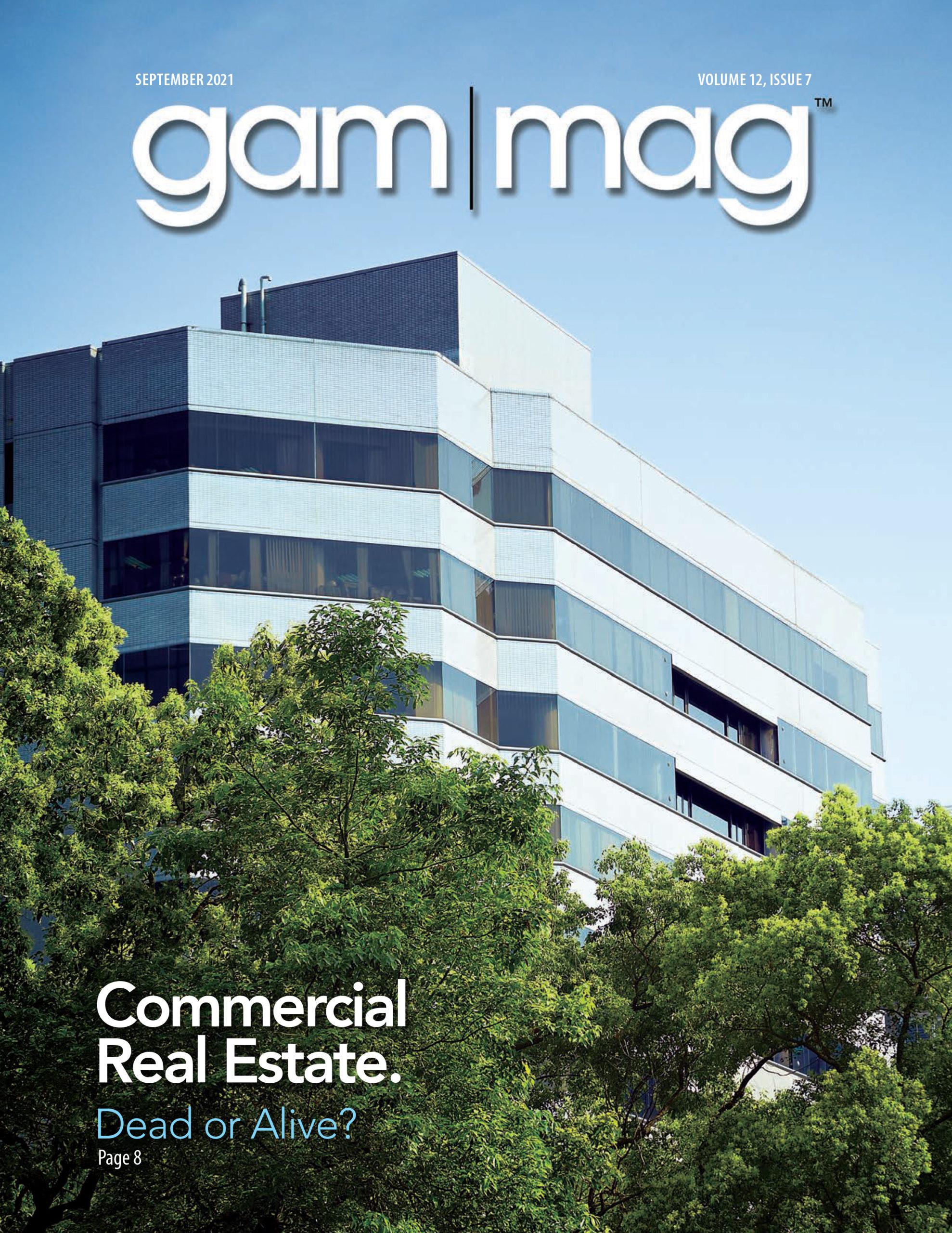 gam|mag Cover September 2021